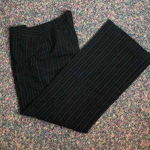 Dressy pinstripe trousers in EUC